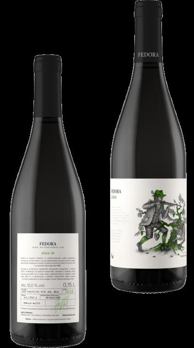 fedora-vino-zelen